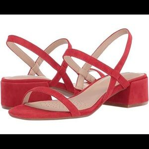 Kenneth Cole New York Maisie Low Suede Sandals